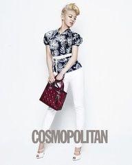 Hyoyeon in Cosmopolitan magazine