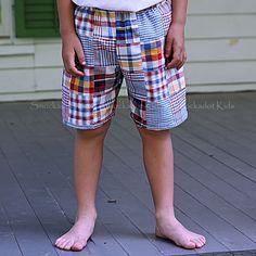 4/25/2013   Boys Preppy Patchwork Shorts