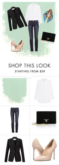 """""""zakladní šatník"""" by vvejrkova on Polyvore featuring мода, Tory Burch, Prada, HUGO, Massimo Matteo и Dolce&Gabbana"""