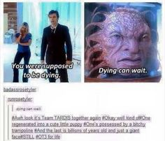 Dying can wait