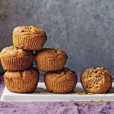 Pumpkin-Spice Muffins Recipe | MyRecipes