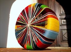 Turn your old tyres into something beautiful! Gloucestershire Resource Centre http://www.grcltd.org/scrapstore/