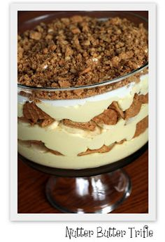 Nutter Butter Trifle