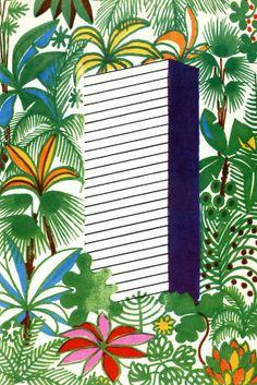 Illustration from book Dalekohled, 1966.