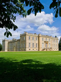 """""""Kimbolton Castle, Cambridgeshire, England, is best know as the final home of King Henry VIII first wife Katherine of Aragon. Originally a medieval castle but converted into a stately palace. It was the family seat of the Dukes of Manchester from 1650 to 1950."""""""