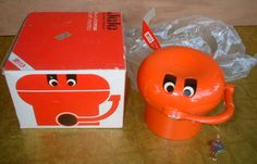 Did anyone else have a piggy bank like this?