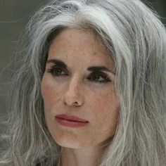 Gorgeous grey hair a