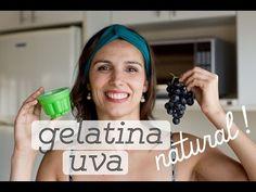 GELATINA NATURAL DE UVA (com agar-agar) + e porque a de caixinha não é uma boa opção - YouTube