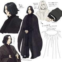 454356 severus snape harry potter anime, harry potter art и Snape And Hermione, Professor Severus Snape, Harry Potter Severus Snape, Severus Rogue, Harry Potter Anime, Harry Potter Outfits, Harry Potter Facts, Harry Potter Fan Art, Harry Potter Universal