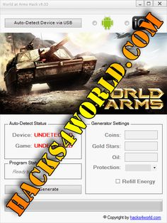 World at Arms Hack working with iOS and Android download only from: http://hacks4world.com/world-at-arms-hack-android-ios/  World at Arms Hack Features: Coins generator Gold Stars generator Oil generator Protection Refill Energy  World at Arms Hack working with iOS and Android download only from: http://hacks4world.com/world-at-arms-hack-android-ios/