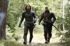 The Musketeers series 3x7. D'Artagnan and Porthos search for Athos, whose horse…