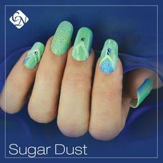 2017 New Spring Summer Nail Art Trend. Design delicious sugar effect nails with the brand new Sugar Dust Decorating Glitter. Sugar Effect, Crystal Nails, Spring Summer, Spring Fever, Insta Makeup, Makeup Junkie, Fun Nails, Design Trends, Nail Designs