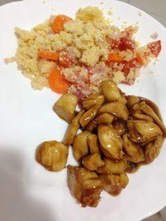 COMIDINHAS FÁCEIS: Peito de frango ao molho de mel e shoyo