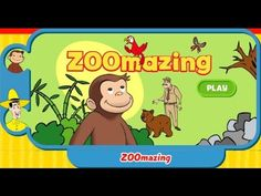 Curious George Zoomazing Cartoon Animation PBS Kids Game Play Walkthrough