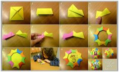 Zlatna djeca: Okvir od memo-papirića
