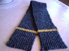 Muestras de bufandas tejidas a dos agujas - Imagui