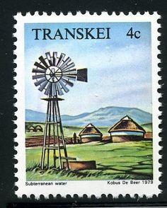 1979: Windmill (דרום אפריקה-מולדות) (Transkei) Mi:ZA-TR 54,Sn:ZA-TR 58,Yt:ZA-TR 54