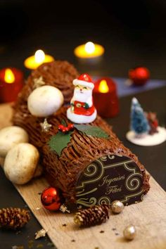 Chocolate Yule Log - Authentic French Recipe | 196 flavors