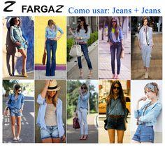 Democrático, o jeans é uma das peças do guarda-roupa feminino é, com certeza, o jeans. E agora ele voltou para o mundo fashion de um jeito diferente, mas muito conhecido: o jeans sobre jeans, um conceito retrô das décadas de 70 e 90.    O duo, que está aparecendo nas ruas e nas passarelas, é conhecido por dar um ar sobrecarregado à produção, mas com alguns cuidados pode ficar fácil e leve de usar. Olha só!