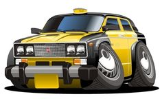 #Taxi #Vector #illustration