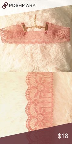 """Lacey choker  Cute Lacey choker. 12"""" extends to 16"""". Jewelry Necklaces"""