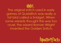 Harry Potter Fun Facts :D