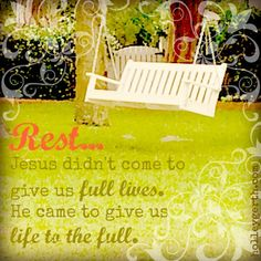 When Your Heart Needs a Little Rest…by Holley Gerth