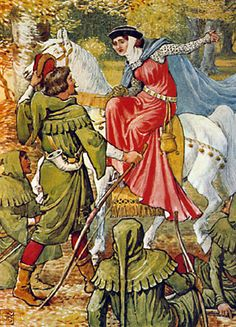 Walter Crane (British, 1845–1915)Robin Hood and the Lady,1912