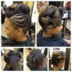 nappy republic   Upstyle   Natural Hair @Nancy Irvin Republic