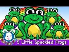 Five Little Speckled Frogs HD - Nursery Rhymes - MyVoxSongs - YouTube