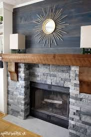 Image result for stacked rock fireplace