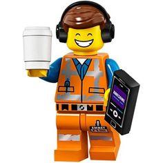 LEGO Minifigures Series Movie 2 / Wizard of Oz 71023 - Awesome Remix Emmet Emmet Lego, Lego Ninjago, Lego Minifigs, Star Wars Minifigures, Lego Minecraft, Minifigura Lego, Lego Games, Minecraft Skins, Minecraft Buildings