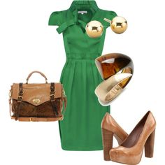 How to wear this season's hot emerald green colour to work #WhereDidUGetThat