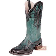 botas bota feminina ariat turquesa html - Busca na Loja Cowboys - Moda  Country e45e151130a