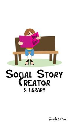 What a great app! You can take pictures, write your story, and record your voice! I'd incorporate my students in their own social stories. Repinned by A Worthey Read