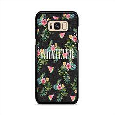 Whatever Watermelons Flower Samsung Galaxy S8 Plus Case | Caserisa