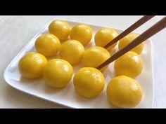 Asian Recipes, Sweet Recipes, Fun Recipes, Egg Yolk Recipes, Good Food, Yummy Food, Kinds Of Desserts, Rice Cakes, How Sweet Eats