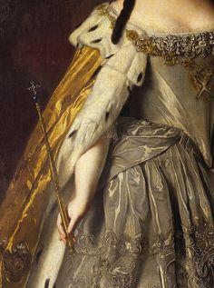 "slojnotak: "" Louis Caravaque - Portrait of Empress Anna Ioannovna (1730) """