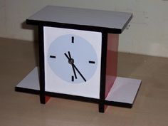 A clock made by my father based on a original clock in museum Dr888  made for Thijs Rinsema ( in Drachten in the Netherlands) Een klok gemaakt door mijn vader gebaseerd op een klok uit het museum Dr888 van Thijs Rinsema