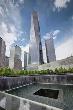 One World Trade Center and 9/11 Memorial.  This was a very emotional and special place for us to visit last summer as a family.  My 911 baby is no longer a baby, but he reminds of the good in the world everyday and the GOOD outshines the bad everytime!
