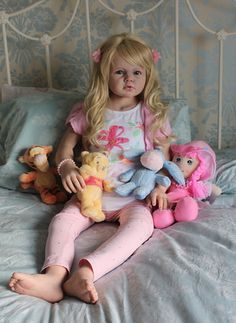 ANGELICA Reborn Girl Toddler Child by REVA SCHICK ~ Little Sunshine Nursery in Dolls & Bears, Dolls, Clothing & Accessories, Artist & Handmade Dolls, Reborn Dolls & Accessories, Reborn Dolls | eBay