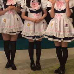 Harajuku Fashion, Kawaii Fashion, Fashion Outfits, Maid Outfit, Maid Dress, Maid Sama, Japanese Aesthetic, Kawaii Clothes, Swagg