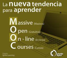 """Conoce una nueva forma de aprender.  """"MOOC"""""""
