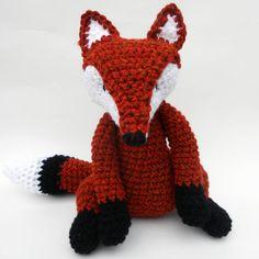 Knitted Fox Teddy - ☆☆☆