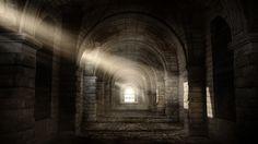 Gladiator Tunnel, Jamir Blanco on ArtStation at https://www.artstation.com/artwork/3v8qB