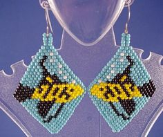 Yellow and Black Fish by handmadebyartie on Etsy, $20.00  Free shipping.