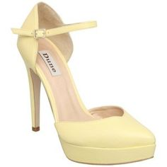 Dune anise in lemon yellow #shoes #heels #stilletto's #style