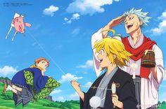 ban, king, and nanatsu no taizai image