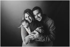 Family portrait during a baby session by newborn photographers in RI, CT and MA