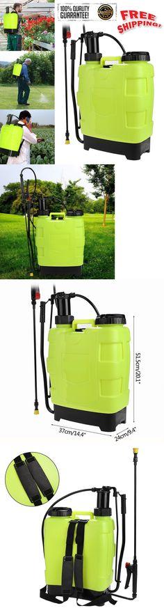 Garden Sprayers 178984: 5Gallon 20L Knapsack Hand Piston Pump Lawn Garden Farm Sprayers Backpack Sprayer -> BUY IT NOW ONLY: $53.35 on eBay!